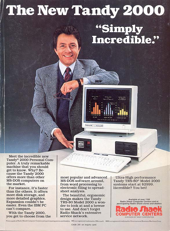 The New Tandy 2000