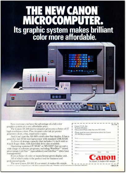 Canon Microcomputer